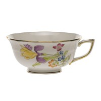 Herend Antique Iris Tea Cup