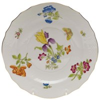 Herend Antique Iris Salad Plate