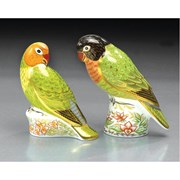 Royal Crown Derby Male Lovebird Paperweight
