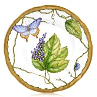 Anna Weatherley Wildberry Lavender Salad Plate