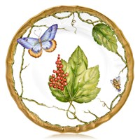 Anna Weatherley Wildberry Red Salad Plate