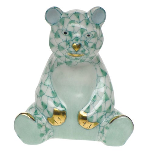 Mini Baby Bear Sitting Green