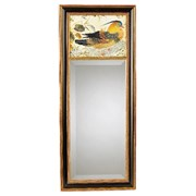 Chinese Pheasant Mirror with Black Background