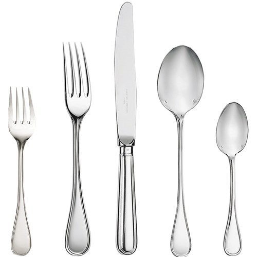 Christofle Albi Sterling Silver 5-Piece Place Setting
