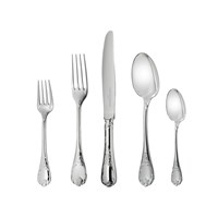 Christofle Marly Sterling Silver 5 Piece Place Setting