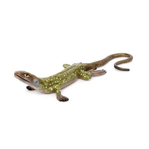 Austrian Bronze Lizard with long tail, Medium Figurine