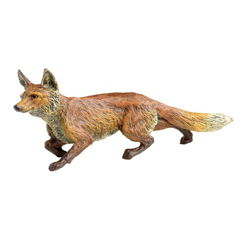 Austrian Bronze Curious Fox