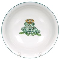 Herend Frog Prince Child's Bowl