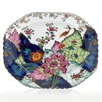 Mottahedeh Tobacco Leaf Medium Platter