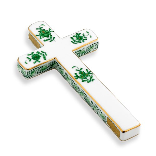Herend Chinese Bouquet Green Cross