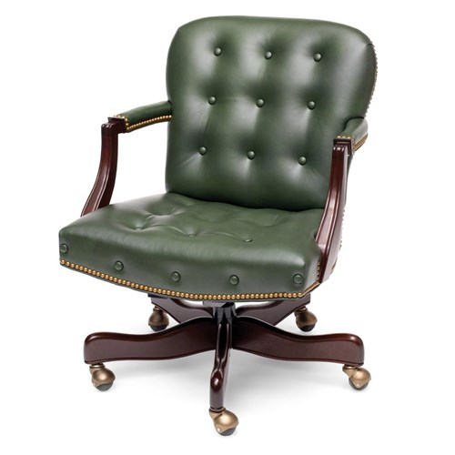 Georgetown Swivel-Tilt Chair Fern Green
