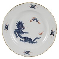 Meissen Ming Dragon II Dark Blue Sugar Bowl