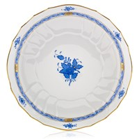Herend Chinese Bouquet Blue Open Vegetable Bowl
