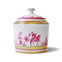 Pinto Paris Chinoserie Covered Sugar Bowl