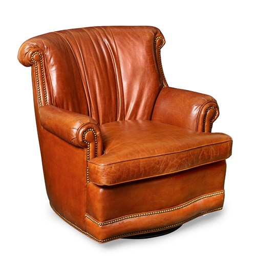 Tait Sullivan Swivel Chair Brown