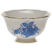 Herend Chinese Bouquet Blue Footed Bowl