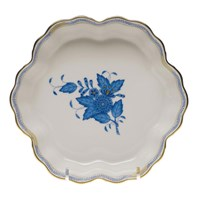 Herend Chinese Bouquet Blue Fruit Bowl, Large