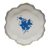 Herend Chinese Bouquet Blue Fruit Bowl, Medium