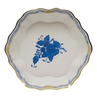 Herend Chinese Bouquet Blue Fruit Bowl, Small