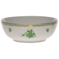 Herend Chinese Bouquet Green Bowl, Large
