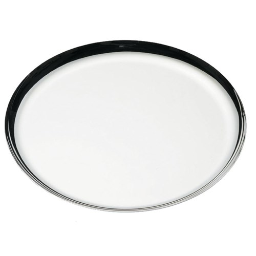 Ercuis Fluide Silverplated Round Tray