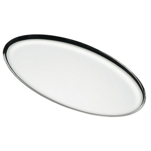 Ercuis Classique Fluide Silverplated Oval Tray