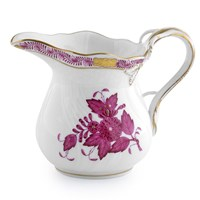 Herend Chinese Bouquet Raspberry Creamer, Large