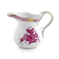 Herend Chinese Bouquet Raspberry Creamer, Small