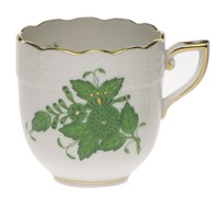 Herend Chinese Bouquet Green After Dinner Cup