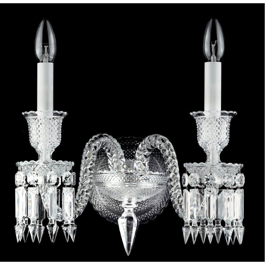 Baccarat Zenith Twolight Wall Sconce Sconces Picture Lights Luxury Lamps Home Decor Scullyandscully Com