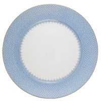 Mottahedeh Cornflower Lace Charger / Presentation Plate