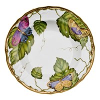 Anna Weatherley Exotic Butterflies Rim Soup Bowl