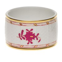 Herend Chinese Bouquet Raspberry Napkin Ring
