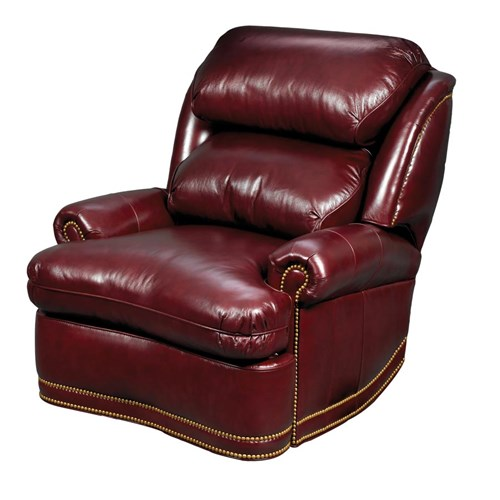 Utter Bliss Power Recliner, Oxblood