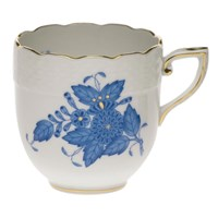 Herend Chinese Bouquet Blue After Dinner Cup