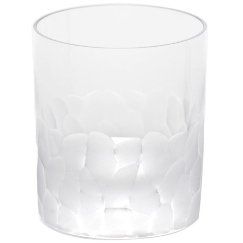 Moser Pebbles Double Old Fashioned, Clear