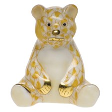 Herend Mini Baby Bear Sitting