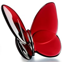 Baccarat Lucky Butterfly Red