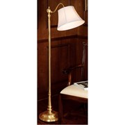 Brass Down-Bridge Floor Lamp