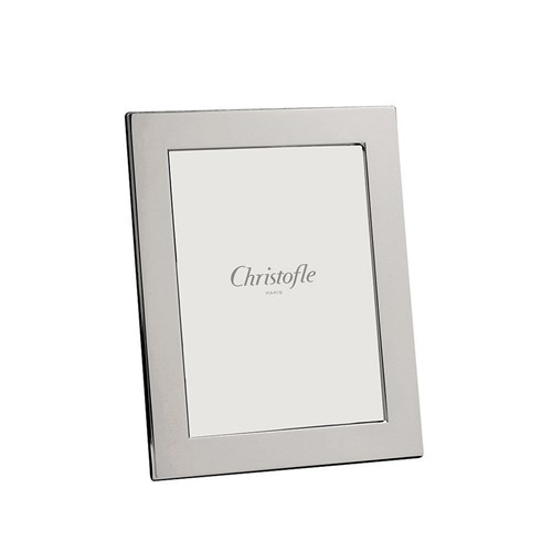 "Christofle Fidelio Silverplated Frame, 4"" x 6"""