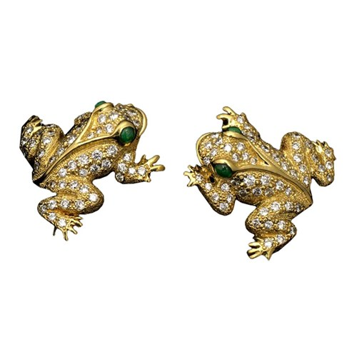 Frog Earrings, Posts