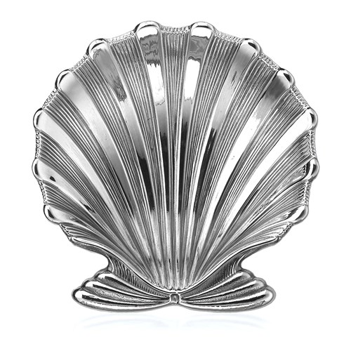 Buccellati Sterling Silver Chlamys Shell Dish, Small