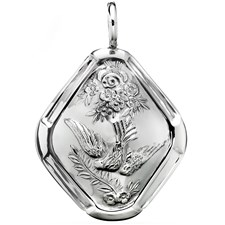 Sterling Dove Ornament