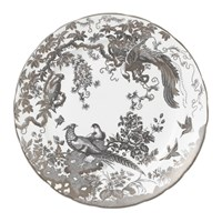 Royal Crown Derby Platinum Aves Dinner Plate