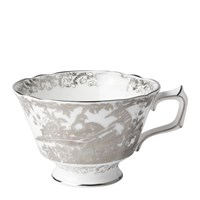 Royal Crown Derby Platinum Aves Tea Cup
