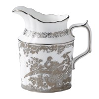 Royal Crown Derby Aves Platinum Creamer