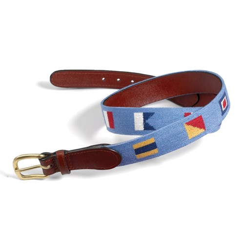 Down The Hatch (blue) Size 42 Belt