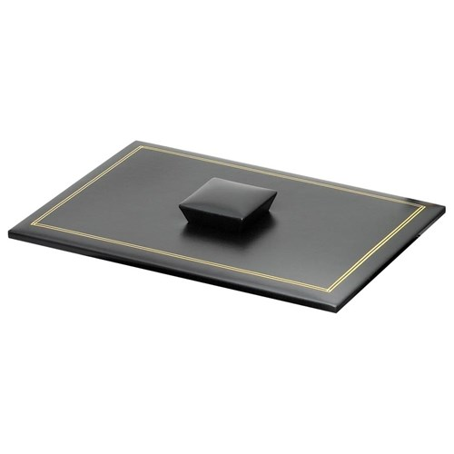 Double Line Leather Legal Tray Covers