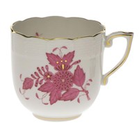 Herend Chinese Bouquet Raspberry Mocha Cup