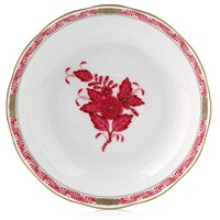 Herend Chinese Bouquet Raspberry Mocha Saucer